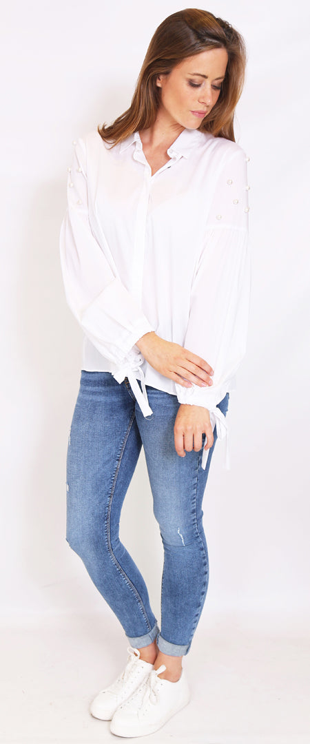 Montreal Pearl Blouse