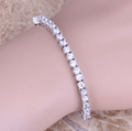 White Sterling Silver Link Chain