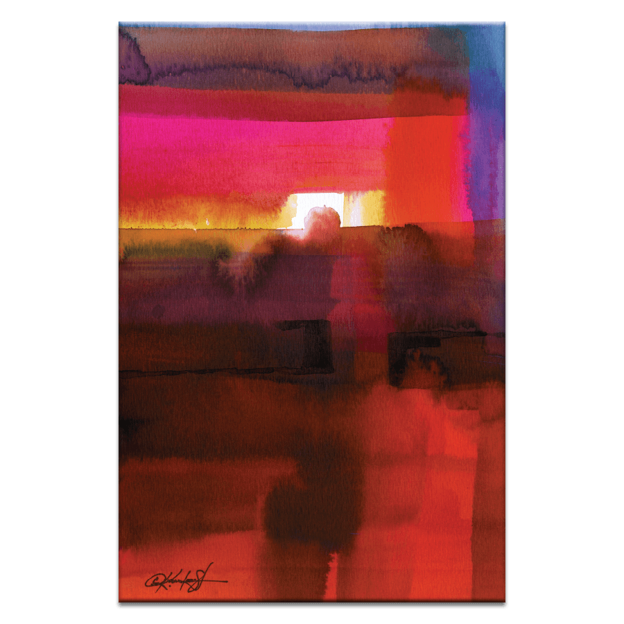 Watercolor Abstraction 221