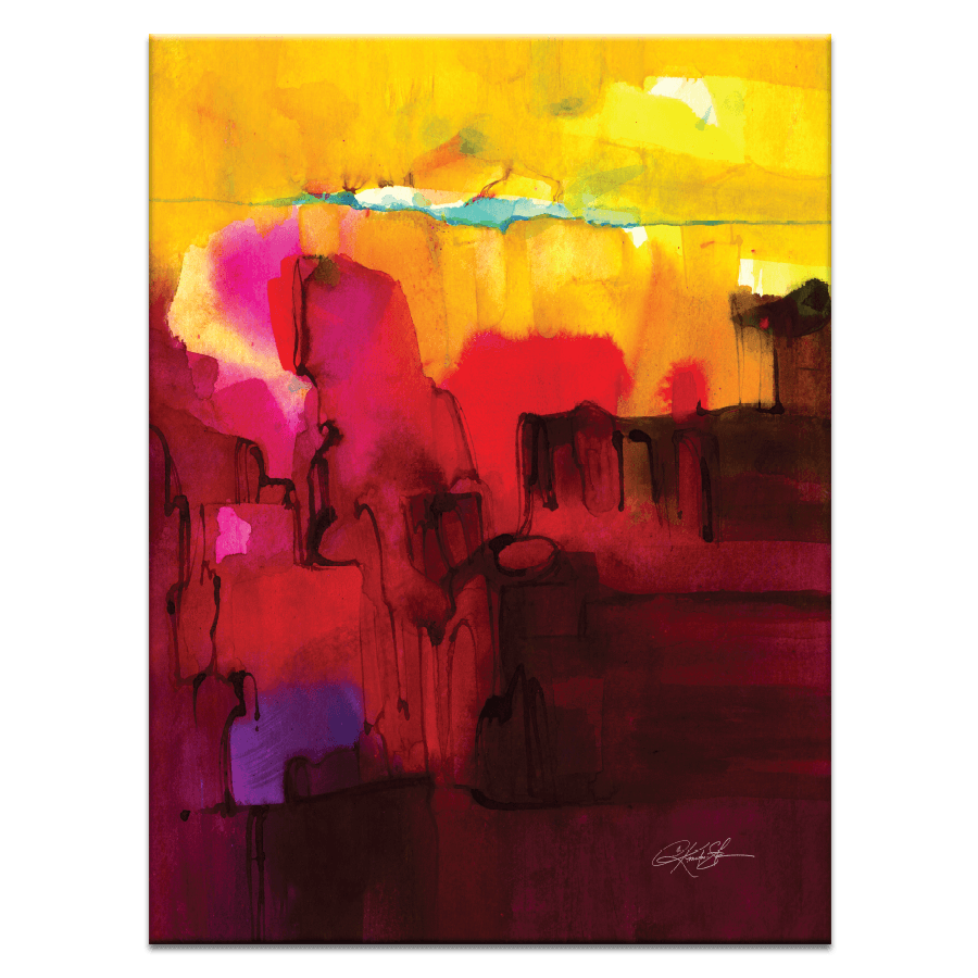 Watercolor Abstraction 400
