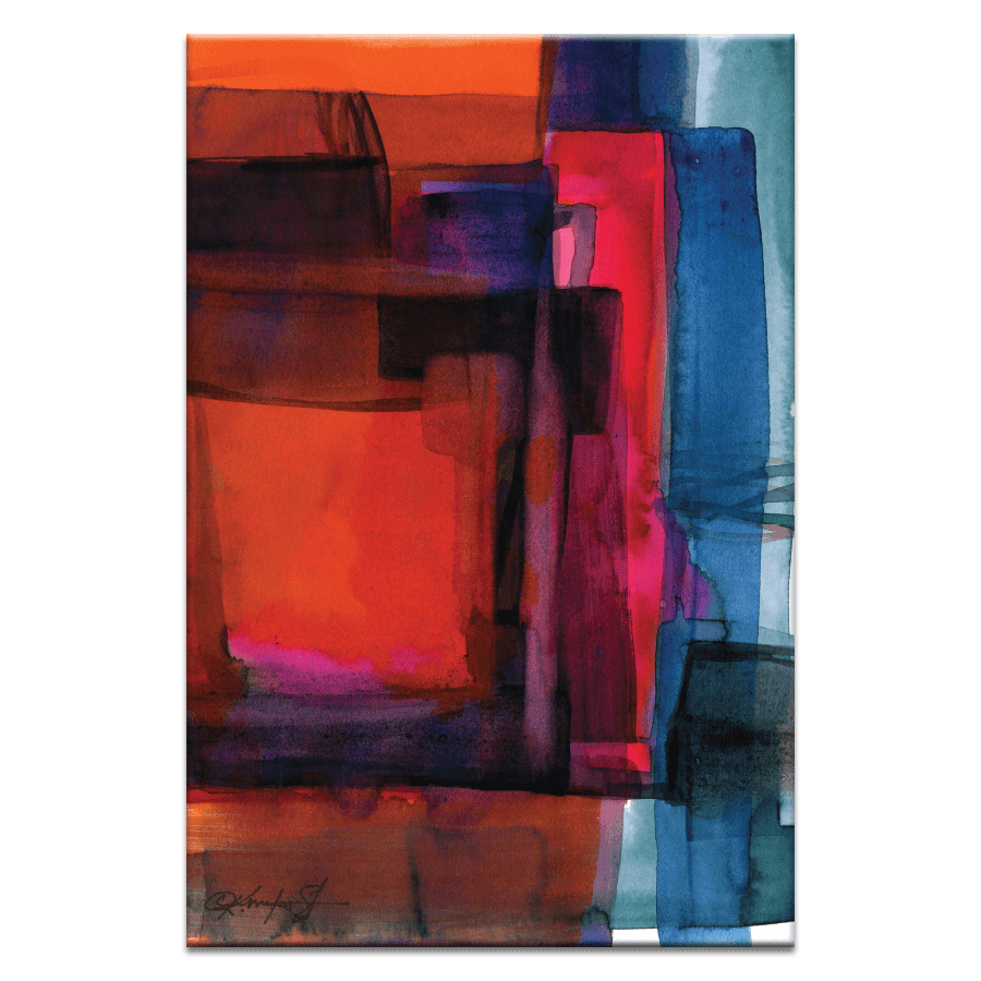 Watercolor Abstraction 115