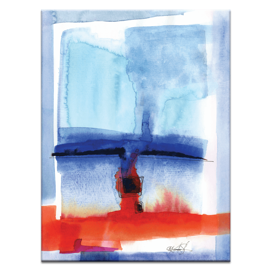 Watercolor Abstraction 126