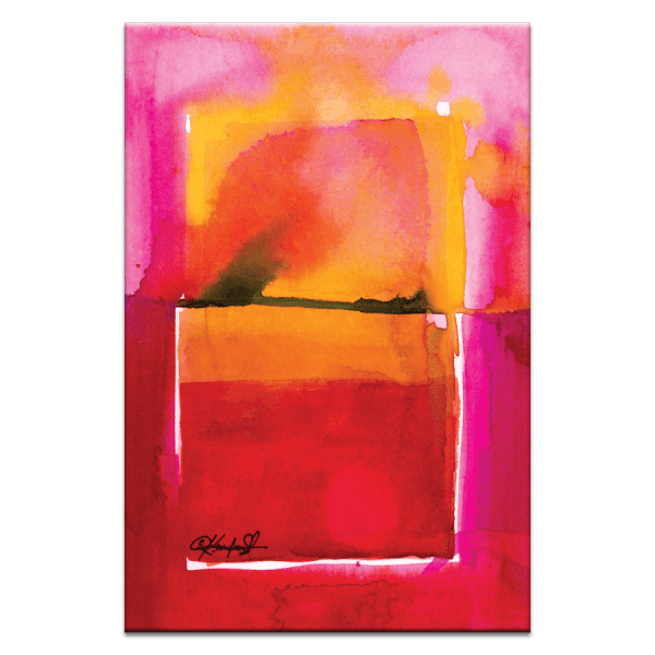 Watercolor Abstraction 208