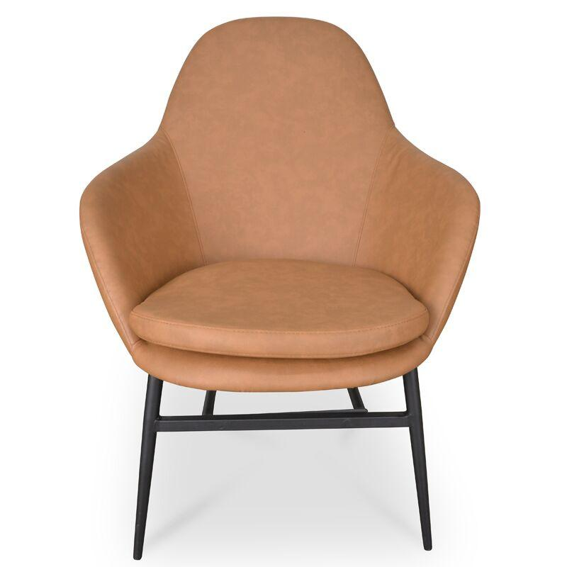 Ned Light Brown Lounge Chair