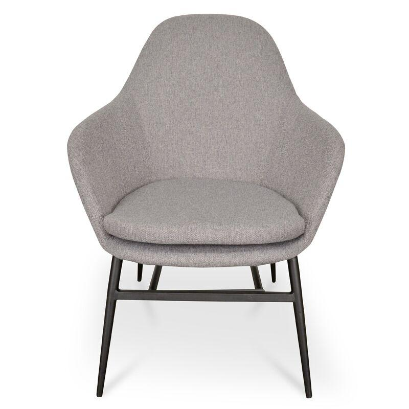 Ned Grey Lounge Chair