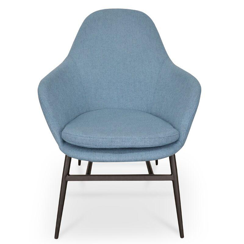 Ned Blue Lounge Chair