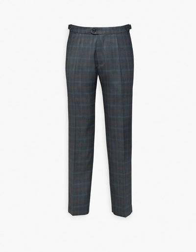 Carmel Pleated Trouser Blue