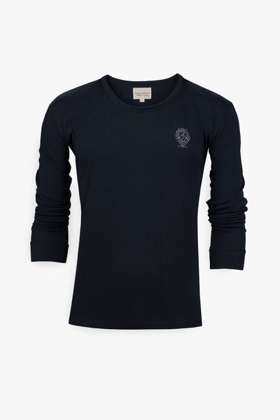 Long Sleeve Custom T-Shirt (Blue)