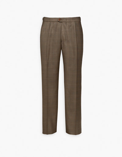 Carmel Pleated Trouser Olive
