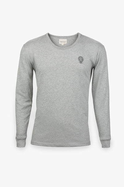 Long Sleeve Custom T-Shirt (Grey)