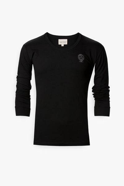 Long Sleeve Custom T-Shirt (Black)