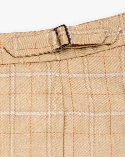Carmel Pleated Trouser Tan