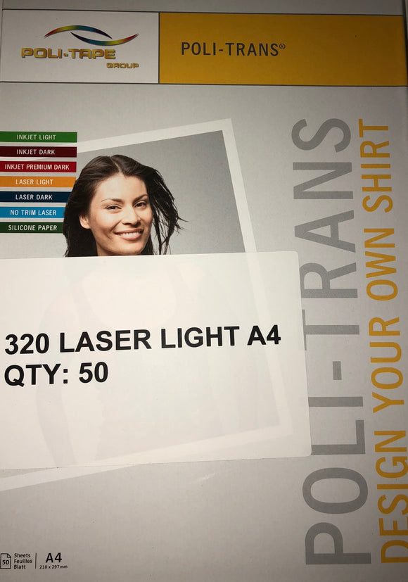 320 Laser Light A4 - 50 sheets
