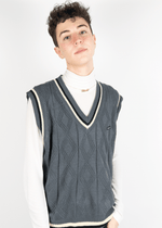 Mens Oversized Sweater Vest