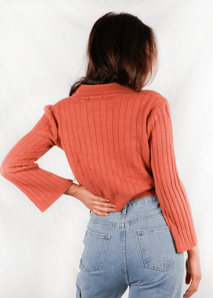 Autumn Cropped Cardigan