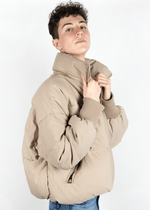 Mens Nude Puff Jacket