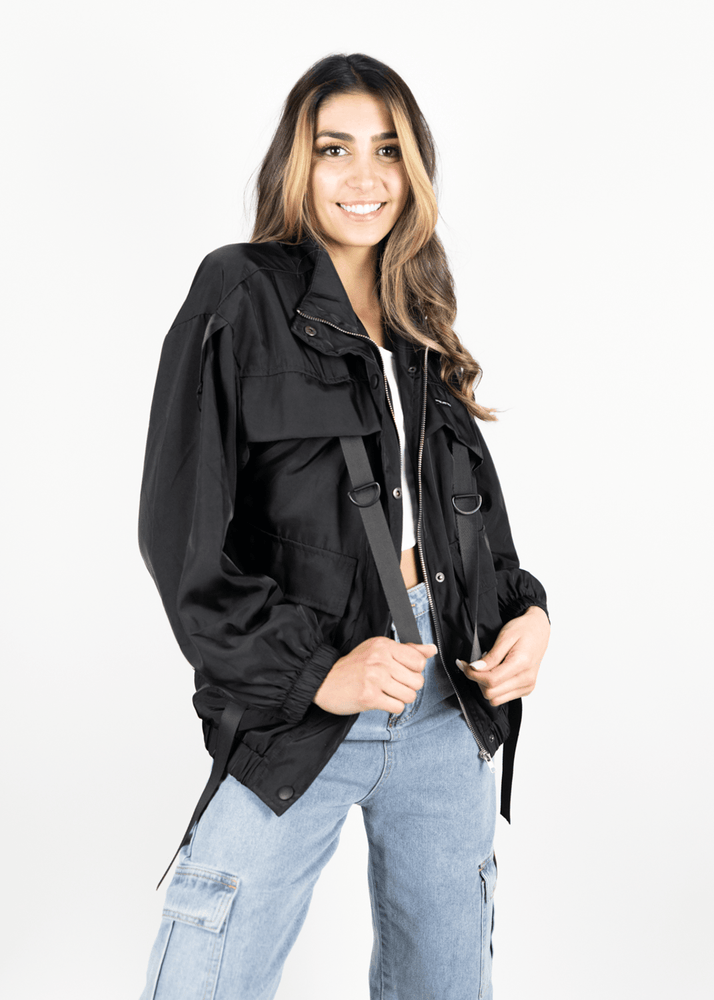 Strapped Light Jacket