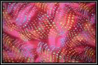 ABSTRACT WAVY SPOTS PINK (Blizzard)