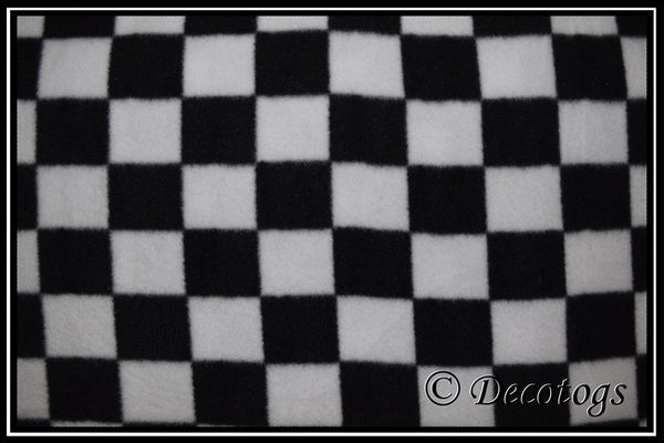 BLACK CHECKER BOARD (Anti Pill)