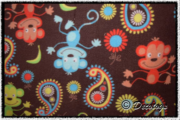 BRIGHT MONKEY PAISLEY BROWN