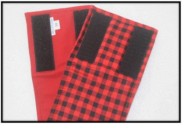 Belly Band - BUFFALO PLAID RED