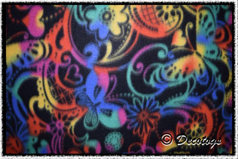 BUTTERFLY SWIRLS RAINBOW - Custom Pullover or Snugglie