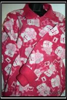 Fleece Snuggle Shirt - COUNTING SHEEP PINK (Anti Pill)