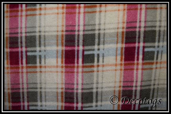 CRANBERRY OLIVE PLAID (Anti Pill)