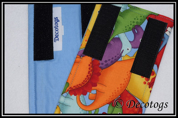 Belly Band - DINOSAUR SKIES COBALT BLUE