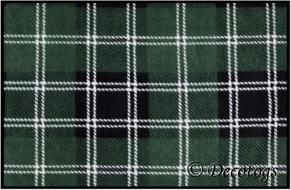 GREEN BLACK PLAID (Luxe)