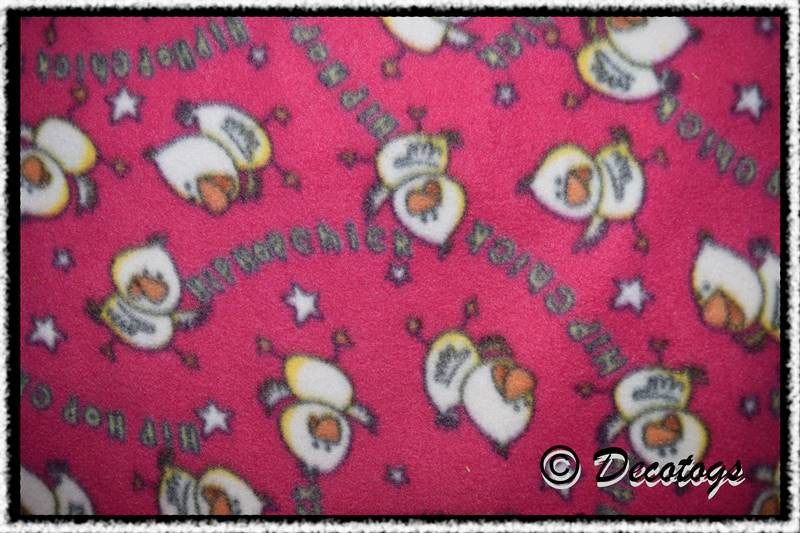 HIP HOP CHICK PINK - Custom Pullover or Snugglie