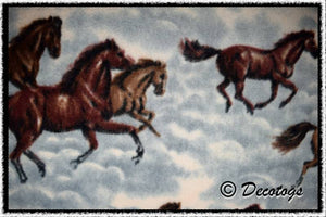 HORSES IN CLOUDS