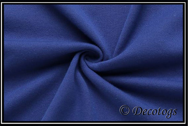 KNIT SOLID ROYAL BLUE (Summer Weight)