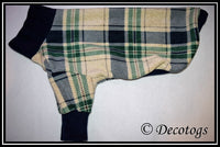 Pullover - NAVY GREEN CREAM PLAID (Luxe)