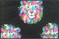 MULTI LIONS WATERCOLOR (Plush)