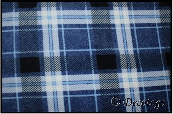 NAVY BLUE PLAID (Luxe)