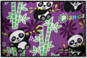 PURPLE PANDA BAMBOO - Custom Pullover or Snugglie
