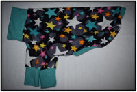 Pullover - PARTY STARS - TEAL TRIM (Anti Pill)