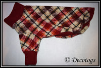 Pullover - PLUSH AUTUMN PLAID
