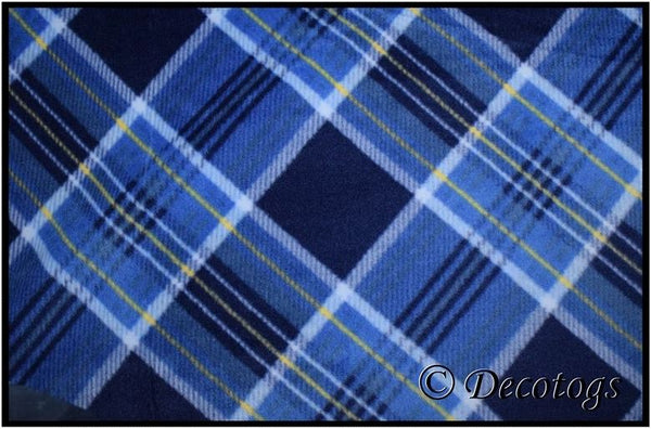 SEAN BLUE YELLOW PLAID (Plush)