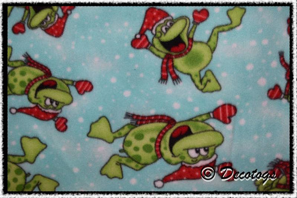 SANTA FROGS LIGHT TURQUOISE