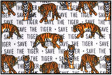 SAVE THE TIGER (Plush)