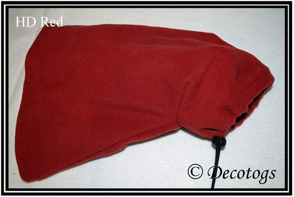 Whippet Snood - HD RED (Plush)