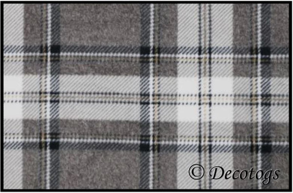 TAN AND HEATHER PLAID (Luxe)