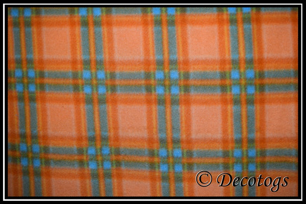 TANGERINE BLUE PLAID (Blizzard)