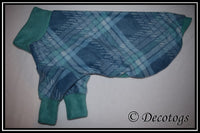 Pullover - TEAL PLAID PARNASSE (Anti Pill)