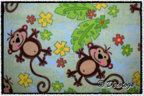 TROPICAL MONKEY - Custom Pullover or Snugglie