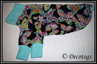 Pullover - WATERCOLOR BUTTERFLIES BLACK