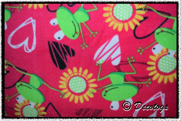 ZANY FROGS HOT PINK
