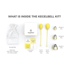 Load image into Gallery viewer, Kegelbell® The Vagina Gym® Original Kit